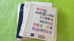Lots TH 721 FRANCE Collection Divers Sur Page D'albums Neufs X Ou Obl. - Collezioni (in Album)
