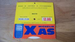 Disque De Stationnement Michelin XAS - Otros