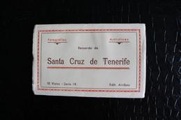 OK-138 / Espagne Islas Canarias - Tenerife, Livret Complete (10 Vistas -  Recuerdo De   Santa Cruz De Tenerife / Circule - Tenerife