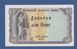 BANGLADESH - P.6 – 1 Taka ND(12-1973) UNC With Tipical Pinholes - See Photo - Bangladesh