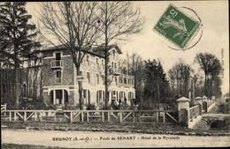 CPA Brunoy Essonne, Foret De Senart, Hotel De La Pyramide - Andere Gemeenten