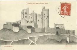 CPA De NAJAC - Château Au XIIIe Siècle. - Najac