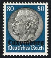 LUXEMBOURG -  Surimpression LUXEMBURG Sur Hindenburg - Ocupación