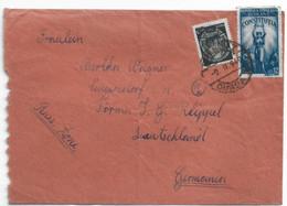 1949 RPR COVER ROMANIA TO GERMANY - BX93XCB88 - Cartas