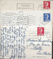 Marianne De Muller N°1011-1011B-1011C, Les 3 De Roulettes, Dents Massicotées. - 1921-1960: Periodo Moderno