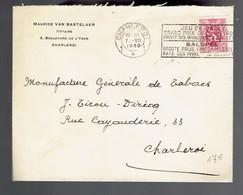 COB 286 / Lsc Charleroi 7 VII 1930 Flamme Bilingue JEU DE BALLE Grand Prix De Charleroi Profit Des Invalides 13 Juillet - Altri