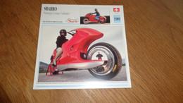 SBARRO Prototype à Roues Orbitales Suisse Switzerland Moto Fiche Descriptive Motocyclette Motos Motorcycle Motocyclette - Sin Clasificación