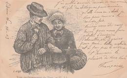 CPA  Précurseur (81)  Type Du Département Du Tarn Paysans Illustrateur C. LIOZU  2 Scans - Non Classés