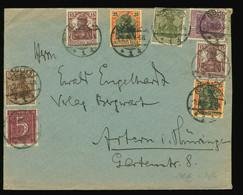 Briefhülle Beleg 1922 Schöne MiF Inflation, Infla Berlin Geprüft, Von Görlitz Nach Artern Thüringen - Brieven En Documenten