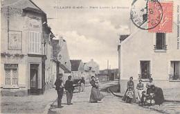 78 - VILLAINE : Place Lucien Le Sergent - CPA Village - Yvelines - Autres Communes