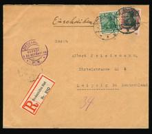Reco Briefhülle Beleg 1920 ? Zensur Censor Diedenhofen Mit Aufkleber Auf Rückseite Militärische Postüberwachungsstelle - Brieven En Documenten