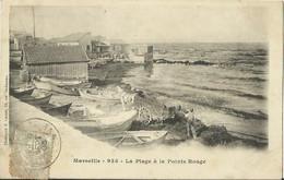 CPA De MARSEILLE - La Plage à La Pointe Rouge. - Old Port, Saint Victor, Le Panier
