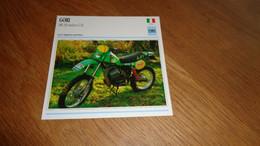 GORI MR 250 Enduro G 81 Italie Italia Moto Fiche Descriptive Motocyclette Motos Motorcycle Motocyclette - Sin Clasificación