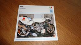 MBA 250 GP Grand Prix 1982 Italie Italia Moto Fiche Descriptive Motocyclette Motos Motorcycle Motocyclette - Sin Clasificación