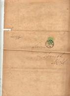 Lettre Cachet Metz 1887 Pour Mairie Dornot Nettoyage Rue - Covers & Documents