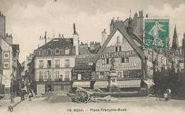 CPA - Dijon - Place François Rude - Dijon