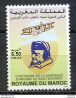 "Maroc, 2000 ; TP 1272 ; Centenaire De La Naissance De Saint Exupéry ;Neuf**,MNH ""Morocco;Marruecos - Marocco (1956-...)"