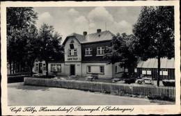 CPA Harrachov Harrachsdorf Reg. Reichenberg Riesengebirge, Cafe Tilly - Czech Republic