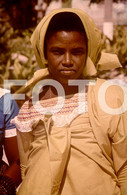 ANGOLA ETHNIC TRIBE NUDE NUE NACKT YOUNG GIRL WOMAN FEMME AFRICA AFRIQUE 35mm DIAPOSITIVE SLIDE NO PHOTO FOTO NB485 - Dias