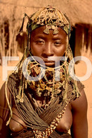 ANGOLA ETHNIC TRIBE NUDE NUE NACKT YOUNG GIRL WOMAN FEMME AFRICA AFRIQUE 35mm DIAPOSITIVE SLIDE NO PHOTO FOTO NB486 - Dias