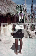 ANGOLA ETHNIC TRIBE NUDE NUE NACKT YOUNG GIRL WOMAN FEMME AFRICA AFRIQUE 35mm DIAPOSITIVE SLIDE NO PHOTO FOTO NB488 - Dias
