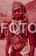 ANGOLA ETHNIC TRIBE NUDE NUE NACKT YOUNG GIRL WOMAN FEMME AFRICA AFRIQUE 35mm DIAPOSITIVE SLIDE NO PHOTO FOTO NB490 - Dias