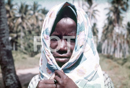 ANGOLA ETHNIC TRIBE NUDE NUE NACKT YOUNG GIRL WOMAN FEMME AFRICA AFRIQUE 35mm DIAPOSITIVE SLIDE NO PHOTO FOTO NB492 - Dias