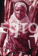 ANGOLA ETHNIC TRIBE NUDE NUE NACKT YOUNG GIRL WOMAN FEMME AFRICA AFRIQUE 35mm DIAPOSITIVE SLIDE NO PHOTO FOTO NB493 - Dias