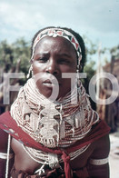 ANGOLA ETHNIC TRIBE NUDE NUE NACKT YOUNG GIRL WOMAN FEMME AFRICA AFRIQUE 35mm DIAPOSITIVE SLIDE NO PHOTO FOTO NB494 - Dias