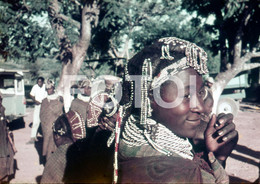 ANGOLA ETHNIC TRIBE NUDE NUE NACKT YOUNG GIRL WOMAN FEMME AFRICA AFRIQUE 35mm DIAPOSITIVE SLIDE NO PHOTO FOTO NB498 - Dias
