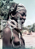 ANGOLA ETHNIC TRIBE NUDE NUE NACKT YOUNG GIRL WOMAN FEMME AFRICA AFRIQUE 35mm DIAPOSITIVE SLIDE NO PHOTO FOTO NB500 - Dias