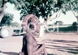 ANGOLA ETHNIC TRIBE NUDE NUE NACKT YOUNG GIRL WOMAN FEMME AFRICA AFRIQUE 35mm DIAPOSITIVE SLIDE NO PHOTO FOTO NB501 - Dias