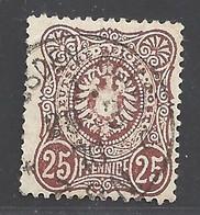 Deutsches Reich Michel Nummer 35 Gestempelt - Sin Clasificación