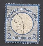 Deutsches Reich Michel Nummer 20 Gestempelt - Sin Clasificación