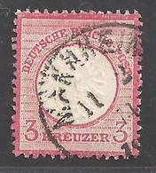 Deutsches Reich Michel Nummer 25 Gestempelt - Sin Clasificación