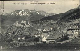 CPA Chateau Queyras Hautes Alpes, Vue Générale - Andere Gemeenten