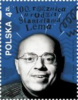 Poland 2021 / 100th Anniv Of Stanisław Lem Birth, Polish Writer, Satire, Science Fiction, Futurologist, Literature MNH** - Nuevos