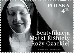 Poland 2021 / Beatification Of Mother Elisabeth Róża Czacka, Franciscan Sisters Servants, Care Of The Blind MNH** New!! - Handicap