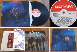 """RARE French LP 33t RPM BIEM (12"""") THE MOODY BLUES (Gatefold P/s, Included 14 Pages Booklet, 1969) - Rock"""