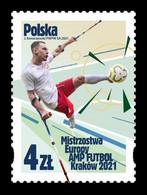 Poland 2021 Mih. 5323 European Amputee Football Championship In Kraków MNH ** - Nuovi