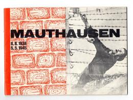 "13878"" MAUTHAUSEN - 8.8.1938-5.5.1945 "" 32 PAGINE + COPERTINE-Cm. 15 X 21 CIRCA - War 1939-45"