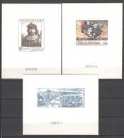 Tschecheslowakei , 3 Numerierte Kartons - Zonder Classificatie