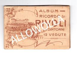 """13879"""" ALBUM RICORDO DI RIVOLI E DINTORNI-12 VEDUTE """" Cm. 7,7 X 11,6 (CHIUSO) - Rivoli"""