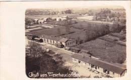 2351/ Gruss Aus Westrhauderfehn, Fotokaart, Station, Trein En Wagons - Altri