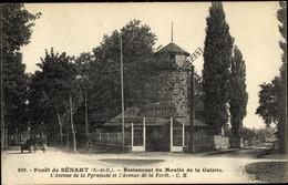 CPA Forêt De Sénart Essonne, Restaurant Du Moulin De La Galette - Andere Gemeenten