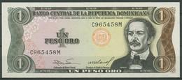 Dominikanische Republik 1 Peso 1984, KM 126 A Kassenfrisch (K424) - Dominicana