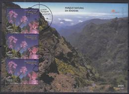 MADEIRA  Block 18, Gestempelt, Europa CEPT: Natur- Und Nationalparks, 1999 - Madeira