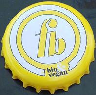 Luxembourg Capsule Bière Beer Crown Cap Funck Bricher Blonde Bio Vegan - Altri