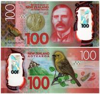 NEW ZEALAND 100 DOLLARS 2016 P 195 - UNC - New Zealand