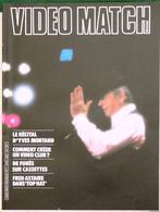 MAGAZINE VIDEO MATCH BELGIQUE 16 Pages N°1 AVRIL 1983  MONTAND DE FUNES ASTAIRE P1056033 - Kino/Fernsehen